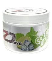7 Days Shisha Tabak - Cold Lime 200g