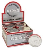 Ozona English Menthol Type 5g Dose 20 Stk.