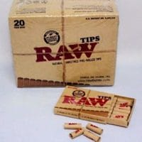 RAW Prerolled Tips (20x 21 tips)