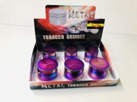 Metal Rainbow Grinder 4er 50mm 3 Stk.,40mm 3 Stk.
