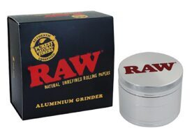 RAW Grinder Aluminium 4 Parts 56mm
