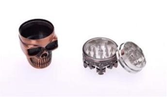 CHAMP Metal Skull Grinder 7.5 cm 3 Parts DL-6